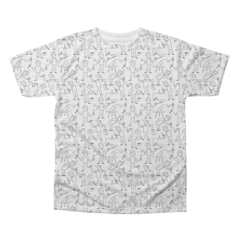 Endless Creation (Alternate Sizing) Men's Triblend All Over Print by Made With Awesome