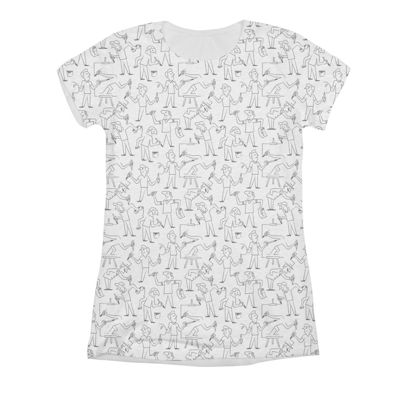 Endless Creation (Alternate Sizing) Women's All-Over Print Triblend T-Shirt by Made With Awesome