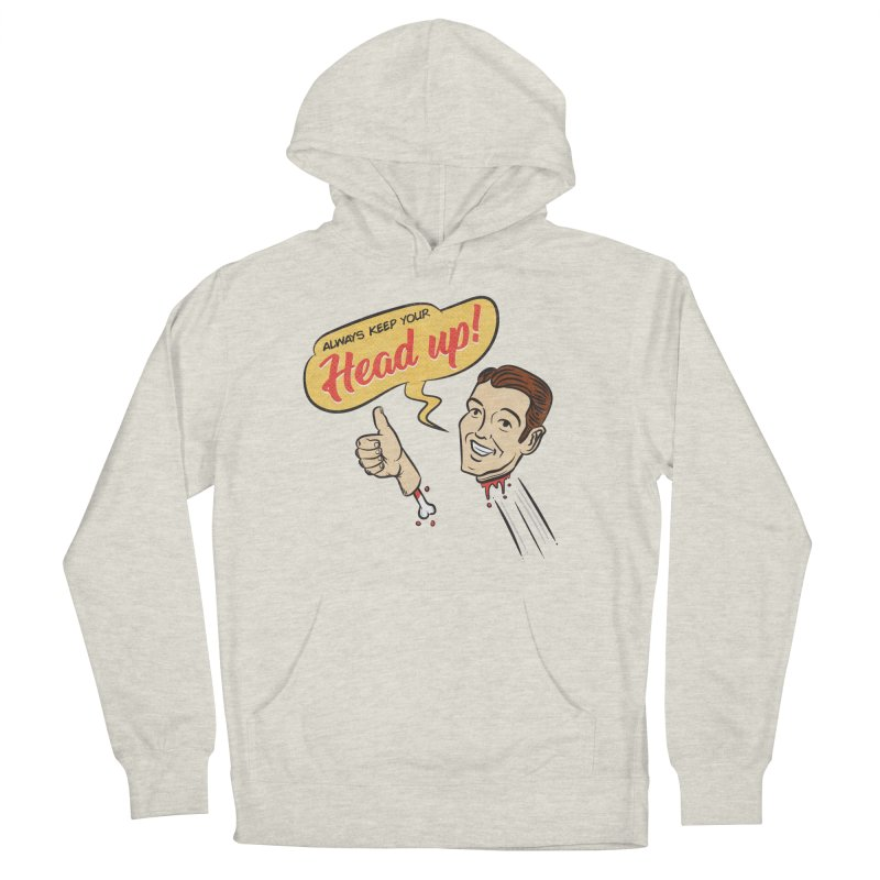 Heads Up Men's Pullover Hoody by Made With Awesome