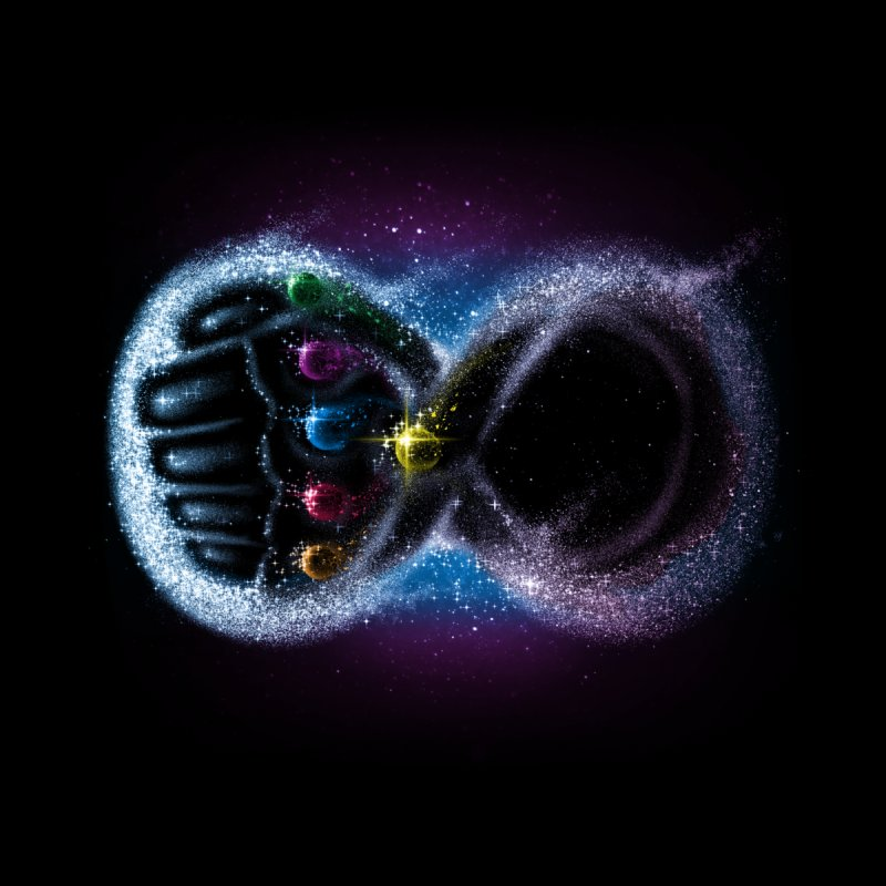Infinity Galaxy by Made With Awesome