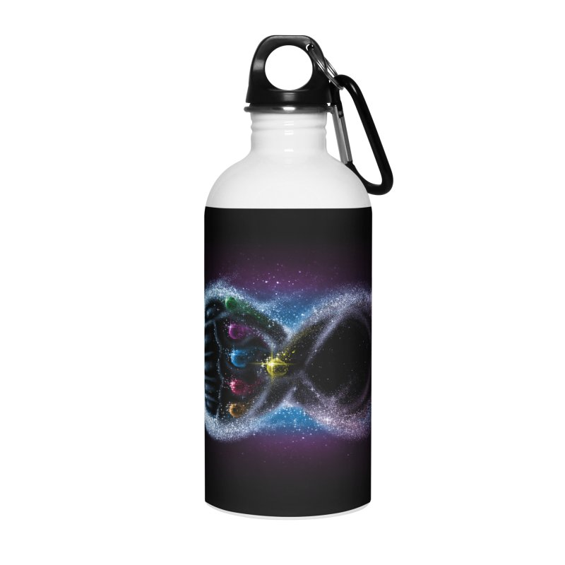 Infinity Galaxy Accessories Water Bottle by Made With Awesome