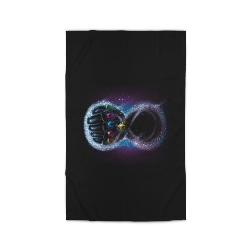 Infinity Galaxy Home Rug by Made With Awesome