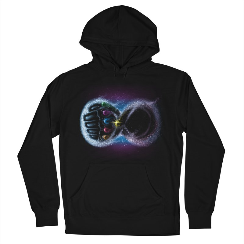 Infinity Galaxy Men's Pullover Hoody by Made With Awesome
