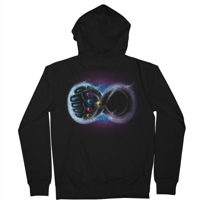 Infinity Galaxy Women's Zip-Up Hoody by Made With Awesome