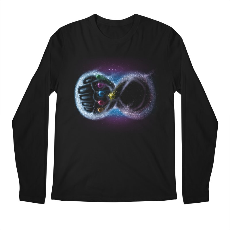 Infinity Galaxy Men's Longsleeve T-Shirt by Made With Awesome