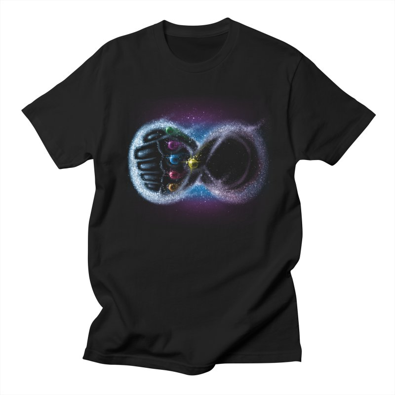 Infinity Galaxy Men's Regular T-Shirt by Made With Awesome
