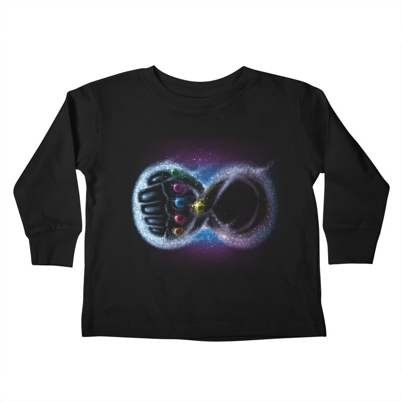Infinity Galaxy Kids Toddler Longsleeve T-Shirt by Made With Awesome