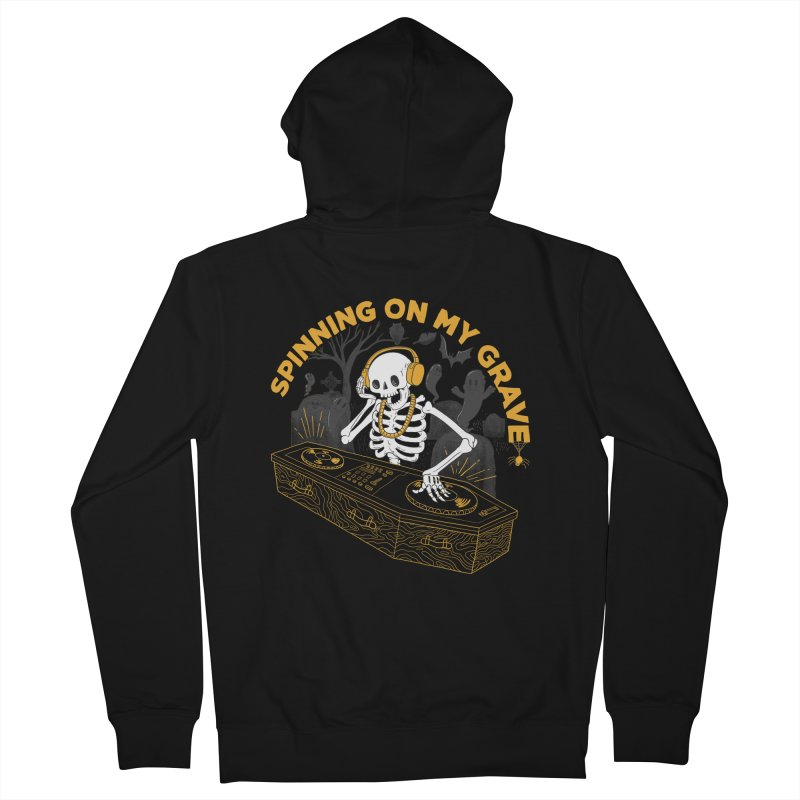 RIP: Rave in Peace Men's Zip-Up Hoody by Made With Awesome