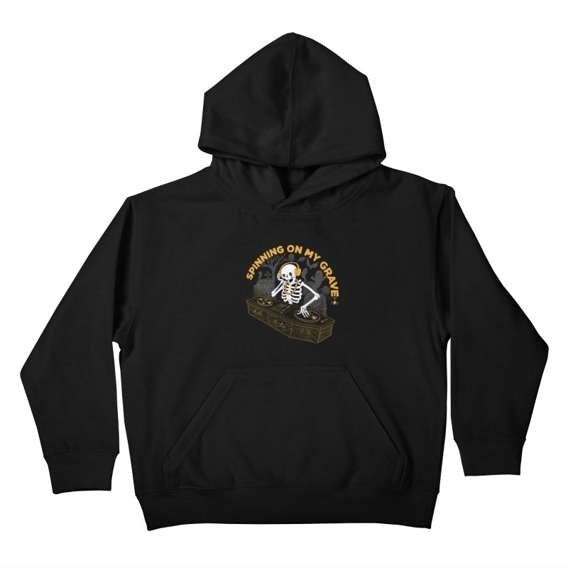 RIP: Rave in Peace Kids Pullover Hoody by Made With Awesome