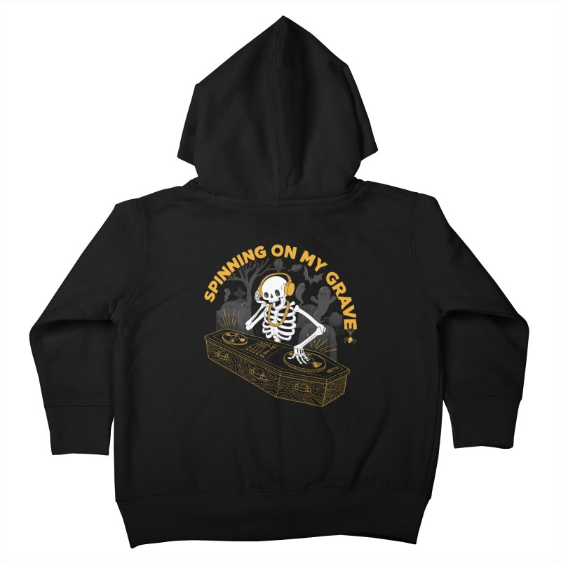 RIP: Rave in Peace Kids Toddler Zip-Up Hoody by Made With Awesome