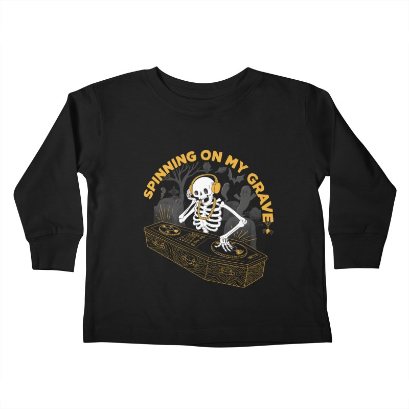 RIP: Rave in Peace Kids Toddler Longsleeve T-Shirt by Made With Awesome