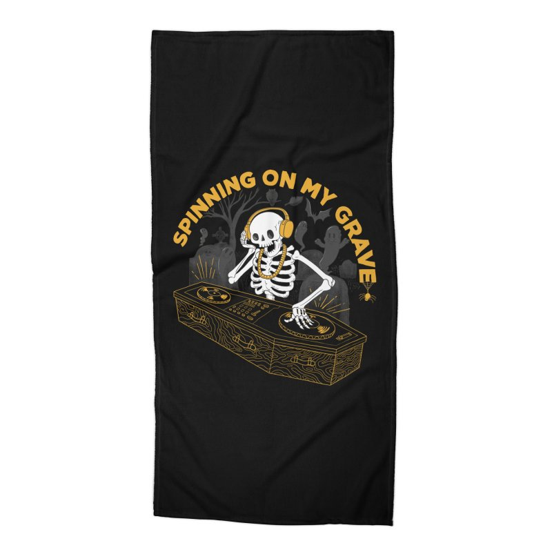 RIP: Rave in Peace Accessories Beach Towel by Made With Awesome