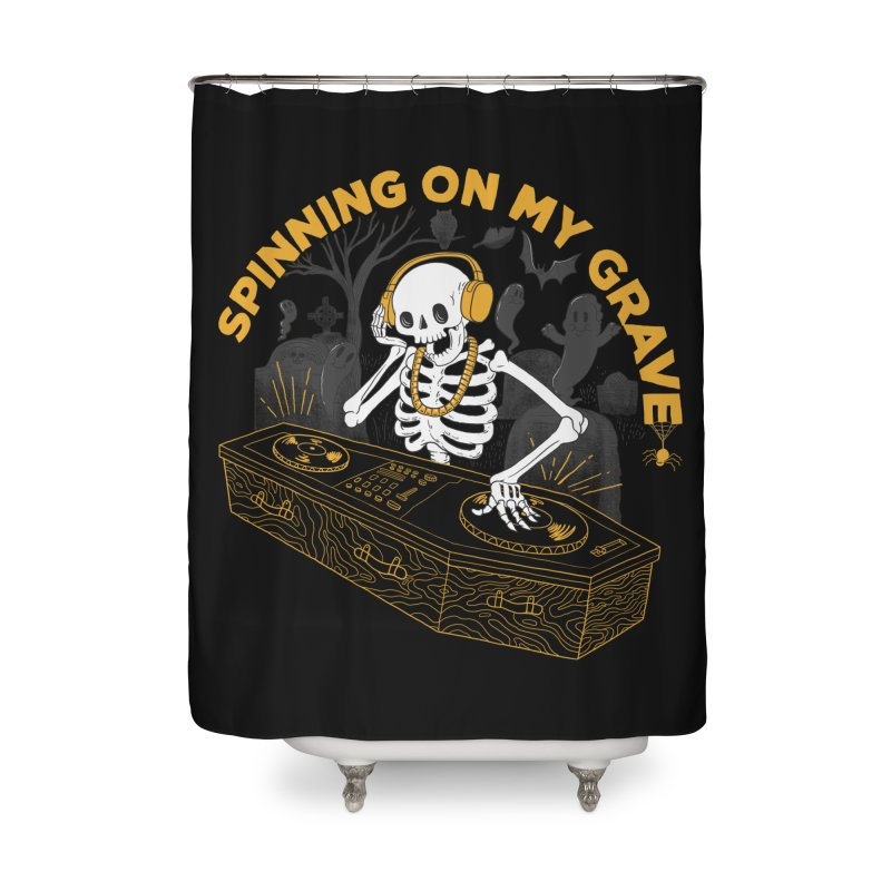 RIP: Rave in Peace Home Shower Curtain by Made With Awesome