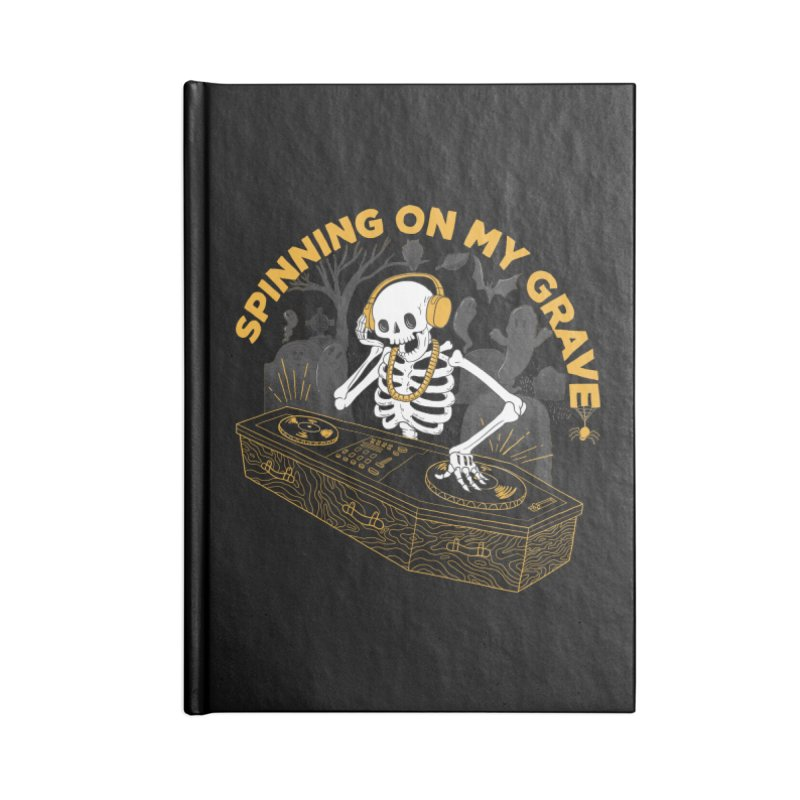RIP: Rave in Peace Accessories Notebook by Made With Awesome