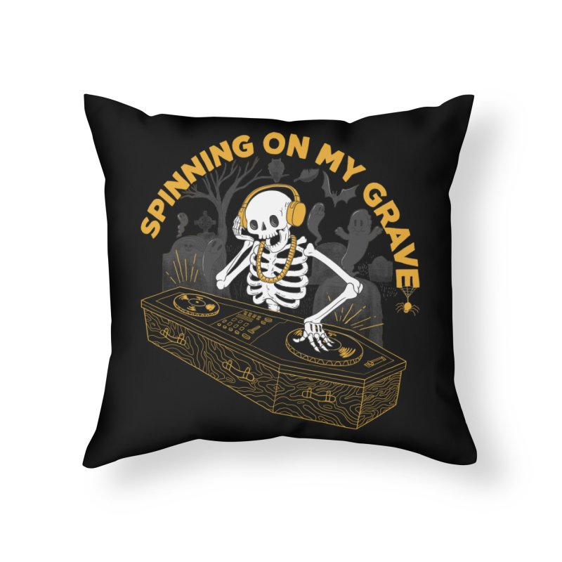 RIP: Rave in Peace Home Throw Pillow by Made With Awesome