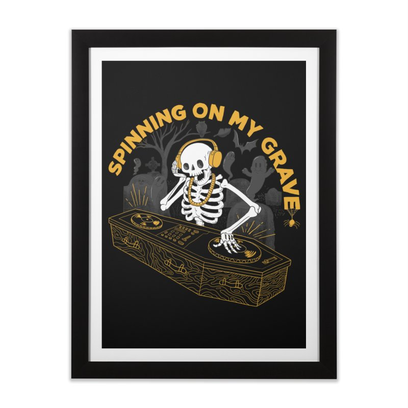 RIP: Rave in Peace Home Framed Fine Art Print by Made With Awesome