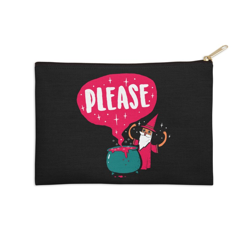 The Magic Word Accessories Zip Pouch by Made With Awesome