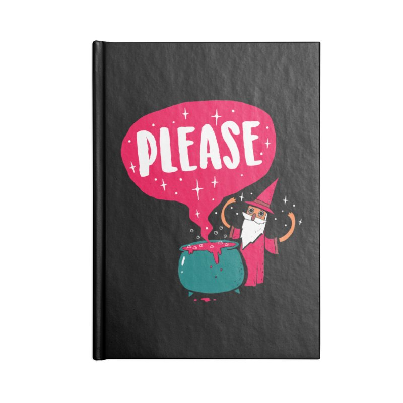 The Magic Word Accessories Notebook by Made With Awesome