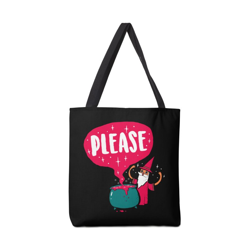 The Magic Word Accessories Bag by Made With Awesome