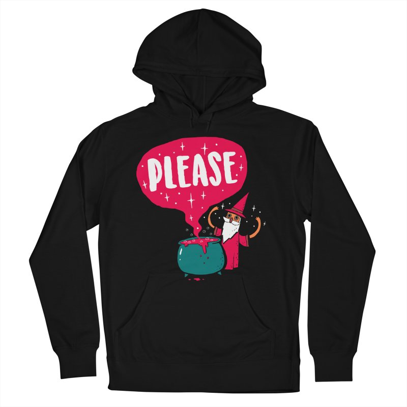 The Magic Word Men's Pullover Hoody by Made With Awesome