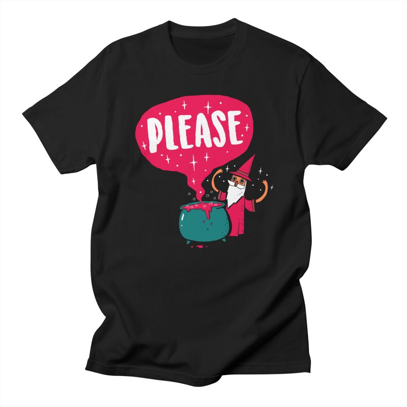 The Magic Word Women's Unisex T-Shirt by Made With Awesome