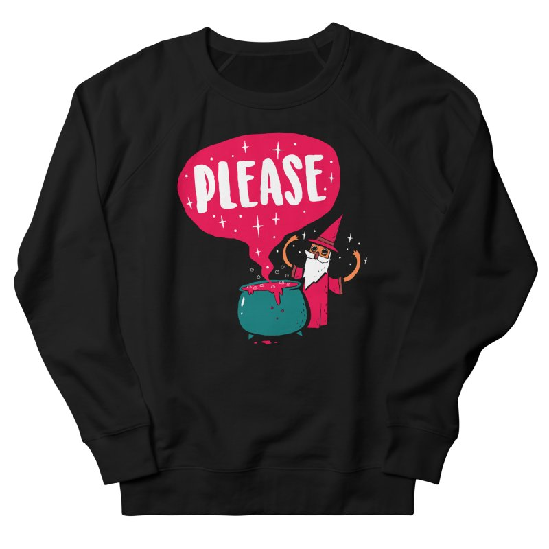 The Magic Word Men's Sweatshirt by Made With Awesome