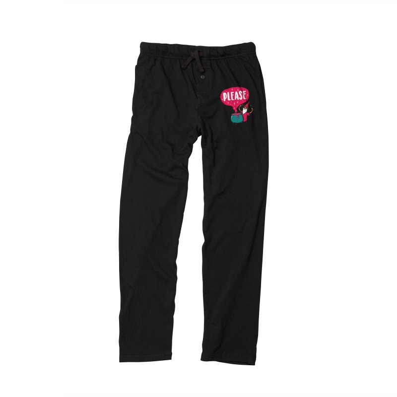 The Magic Word Men's Lounge Pants by Made With Awesome