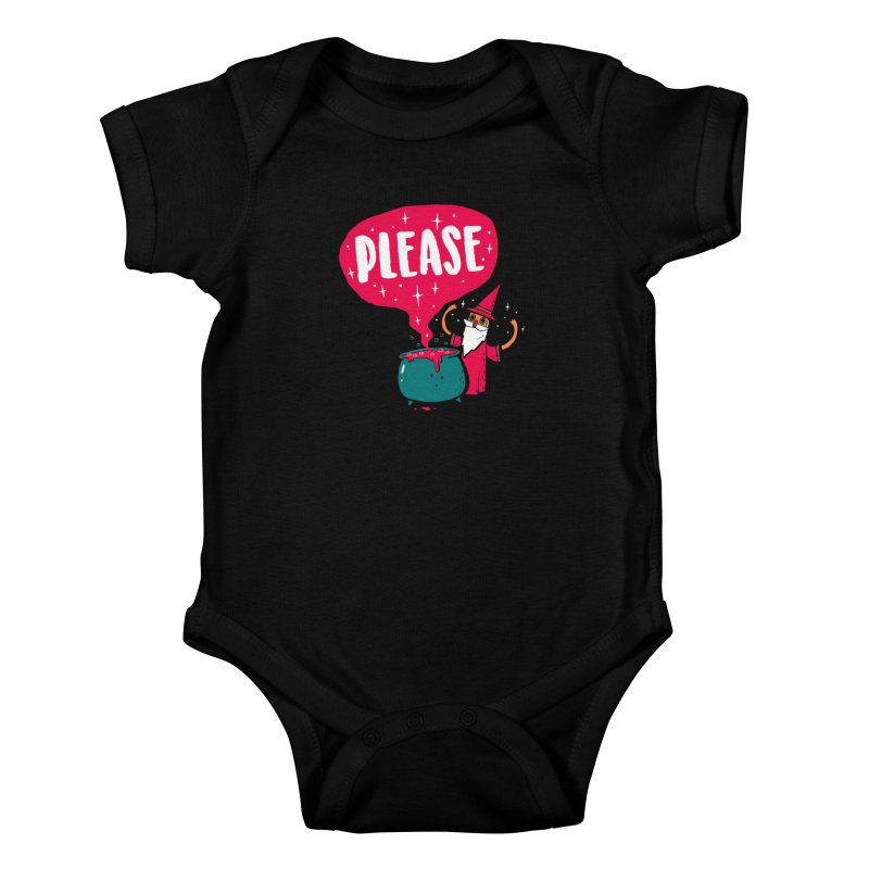 The Magic Word Kids Baby Bodysuit by Made With Awesome