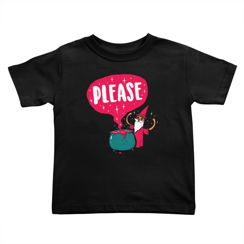 The Magic Word Kids Toddler T-Shirt by Made With Awesome