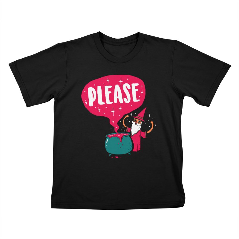 The Magic Word Kids T-Shirt by Made With Awesome