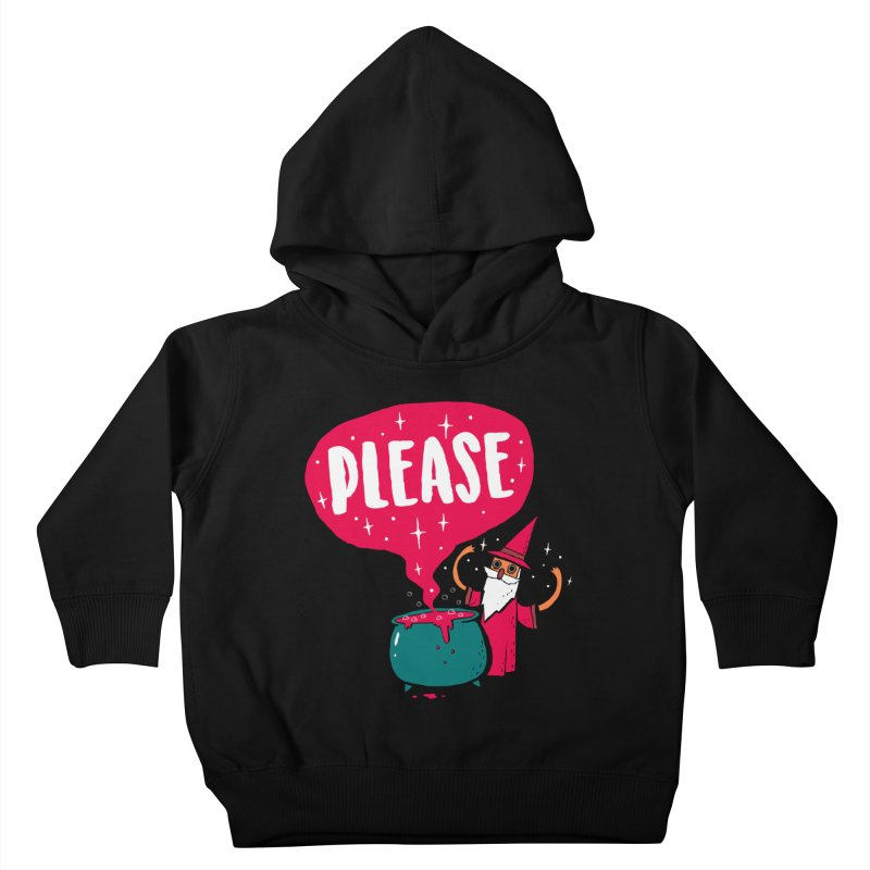 The Magic Word Kids Toddler Pullover Hoody by Made With Awesome
