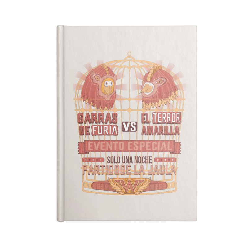 Ultimate Cage Match Accessories Notebook by Made With Awesome