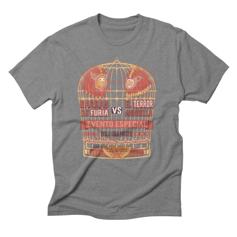 Ultimate Cage Match Men's Triblend T-Shirt by Made With Awesome