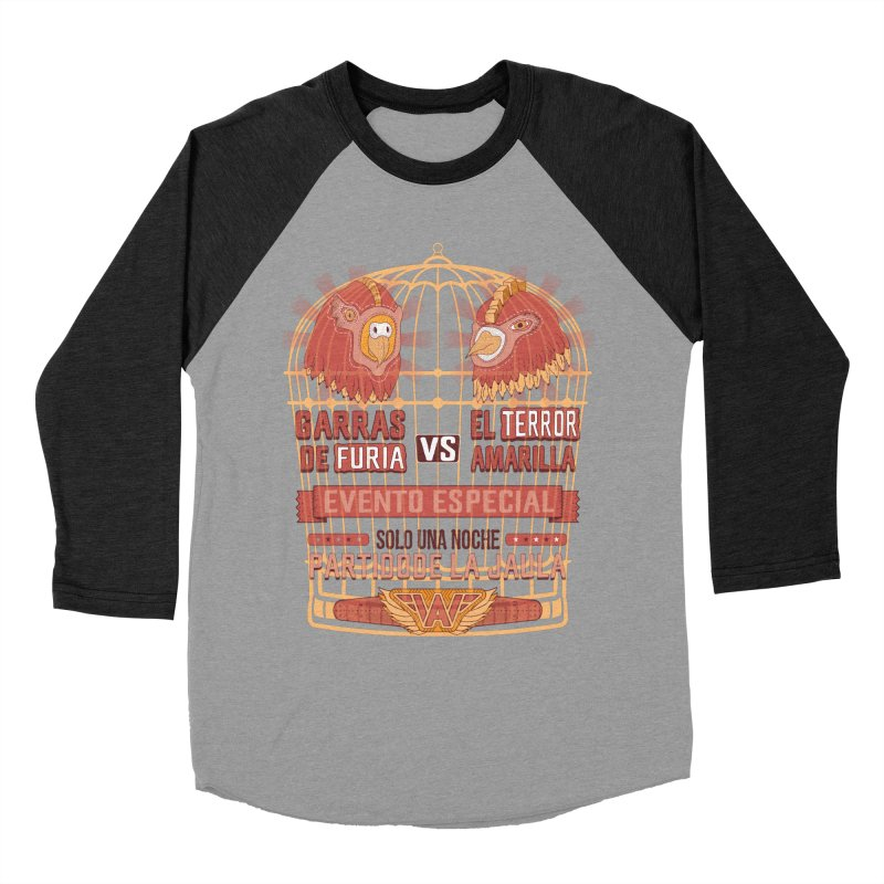 Ultimate Cage Match Men's Baseball Triblend Longsleeve T-Shirt by Made With Awesome