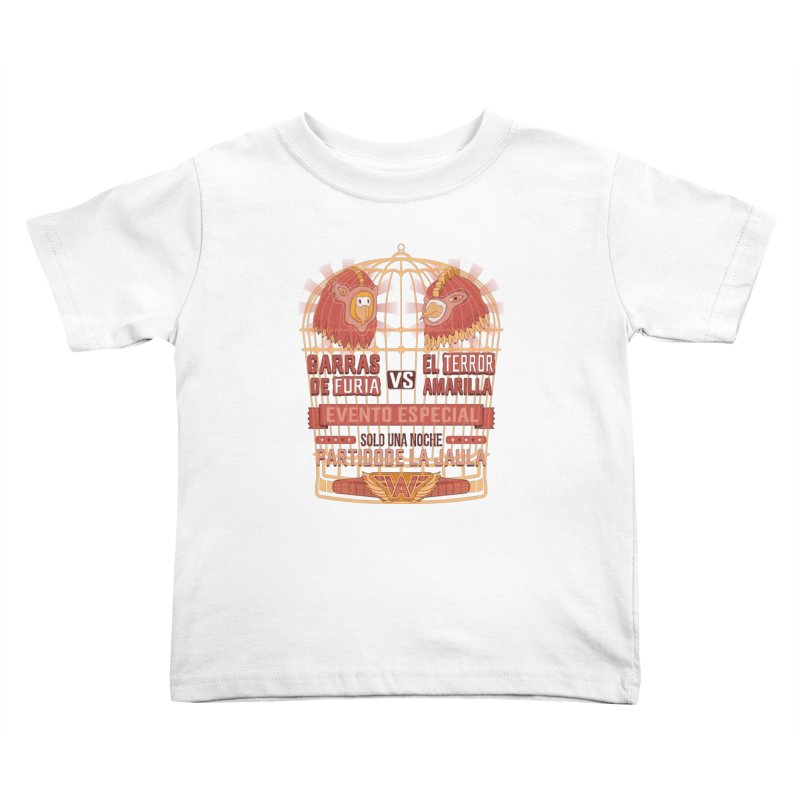 Ultimate Cage Match Kids Toddler T-Shirt by Made With Awesome
