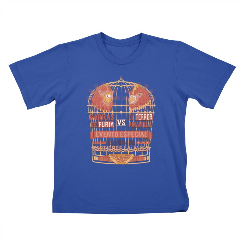 Ultimate Cage Match Kids T-Shirt by Made With Awesome