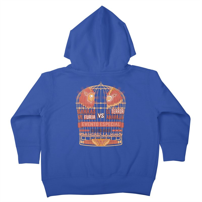 Ultimate Cage Match Kids Toddler Zip-Up Hoody by Made With Awesome