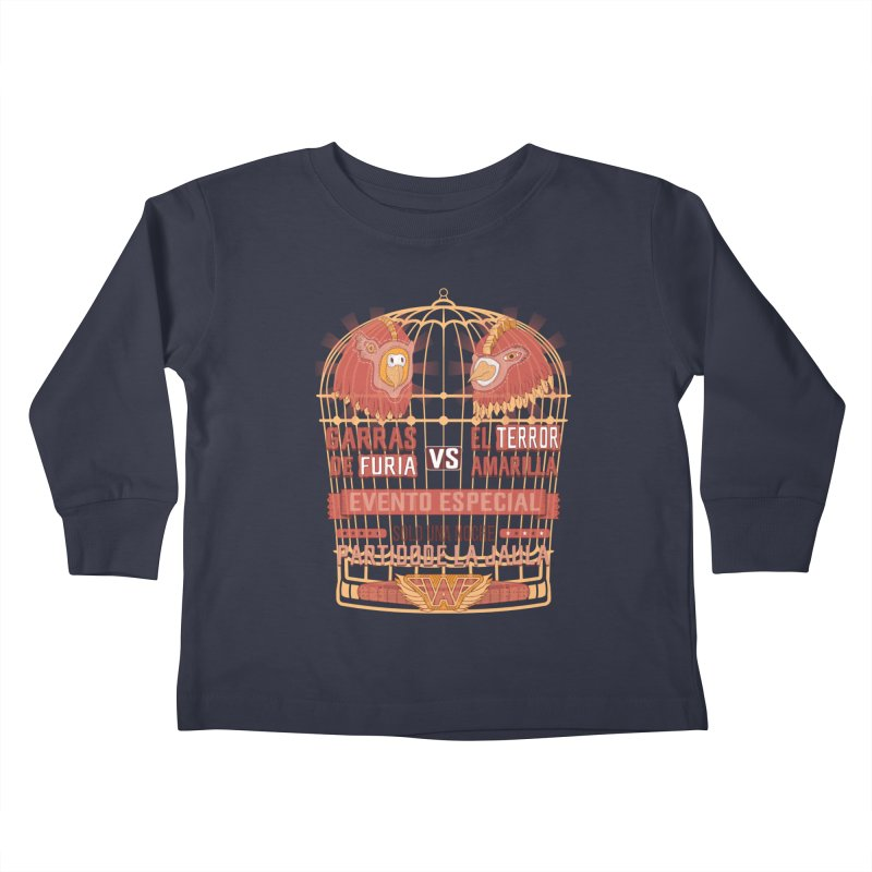 Ultimate Cage Match Kids Toddler Longsleeve T-Shirt by Made With Awesome