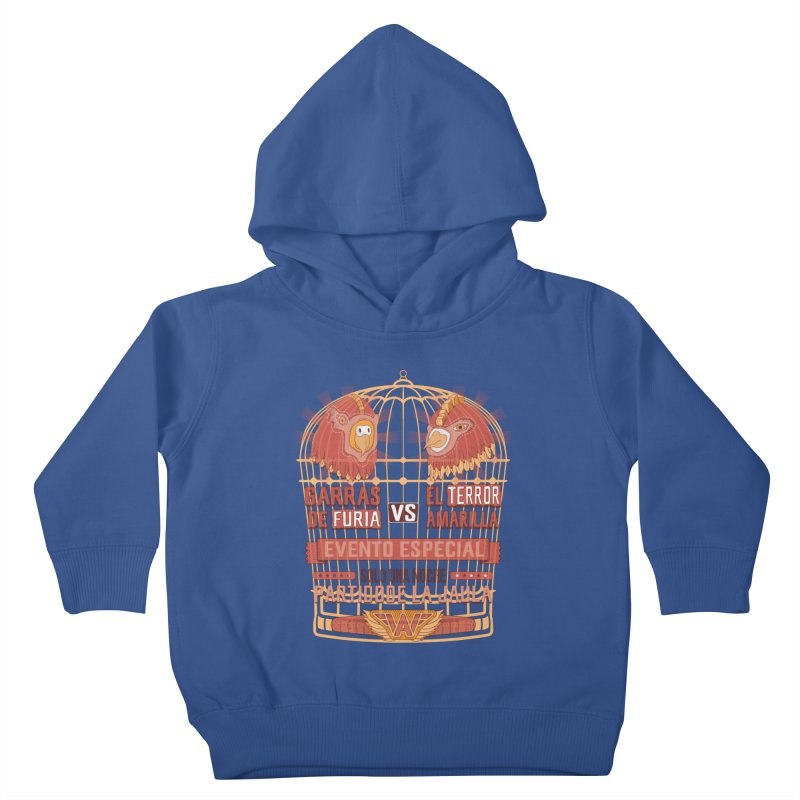 Ultimate Cage Match Kids Toddler Pullover Hoody by Made With Awesome