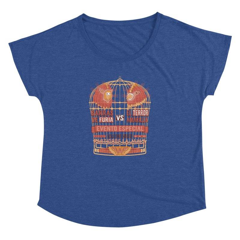 Ultimate Cage Match Women's Dolman by Made With Awesome