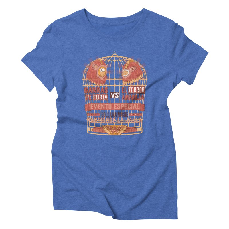 Ultimate Cage Match Women's Triblend T-Shirt by Made With Awesome