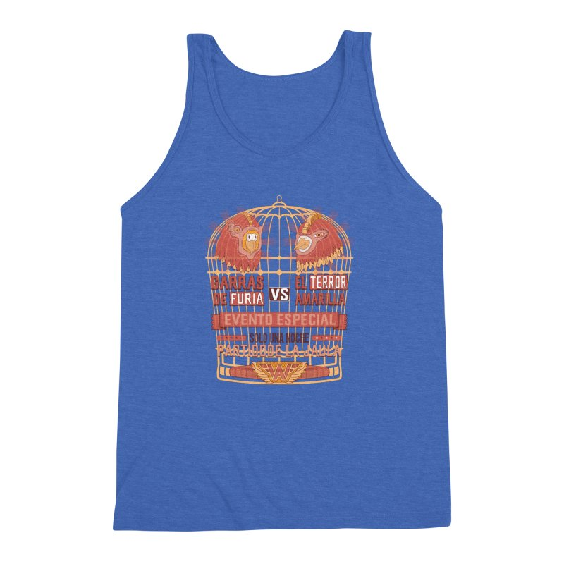 Ultimate Cage Match Men's Triblend Tank by Made With Awesome