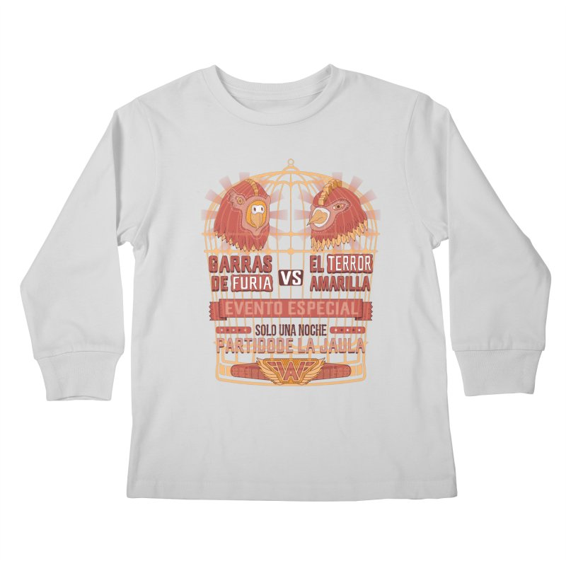 Ultimate Cage Match Kids Longsleeve T-Shirt by Made With Awesome