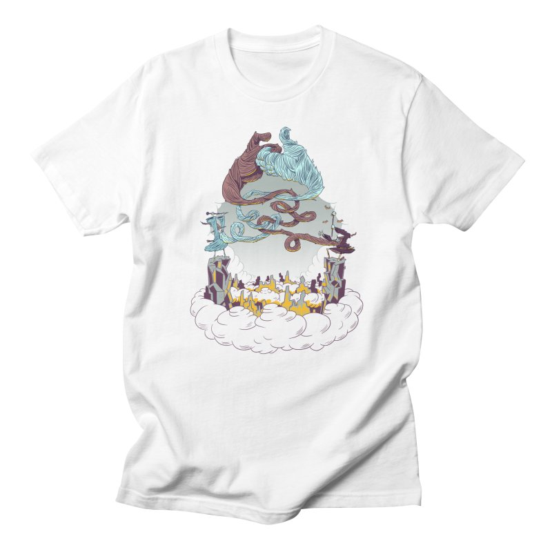 Wizard's Duel Men's T-Shirt by Made With Awesome
