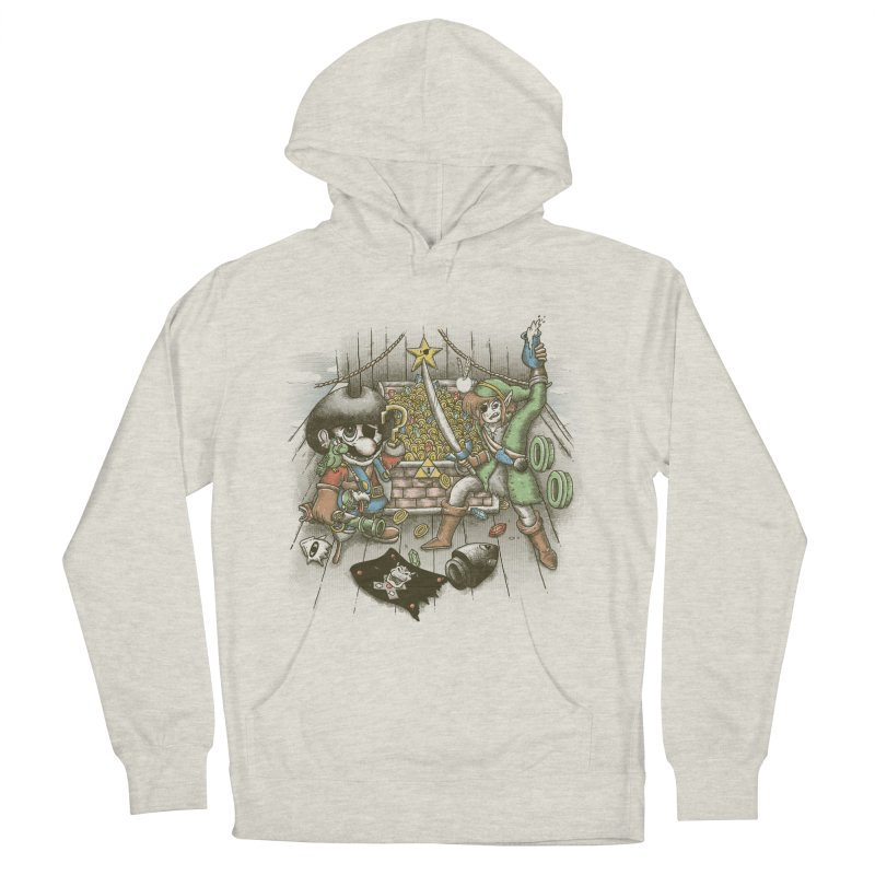 8-Bit Pirates Men's Pullover Hoody by Made With Awesome