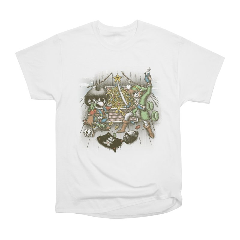 8-Bit Pirates Men's T-Shirt by Made With Awesome