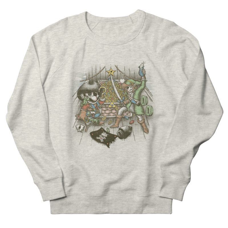 8-Bit Pirates Men's Sweatshirt by Made With Awesome