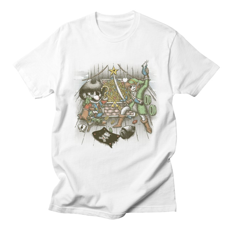 8-Bit Pirates Women's Unisex T-Shirt by Made With Awesome