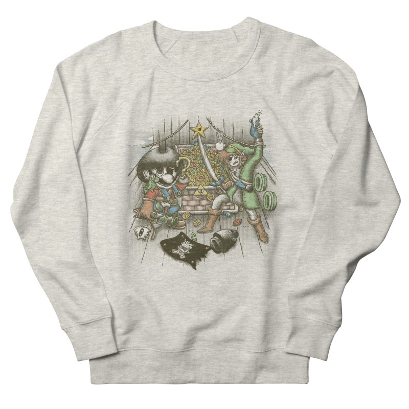 8-Bit Pirates Women's Sweatshirt by Made With Awesome