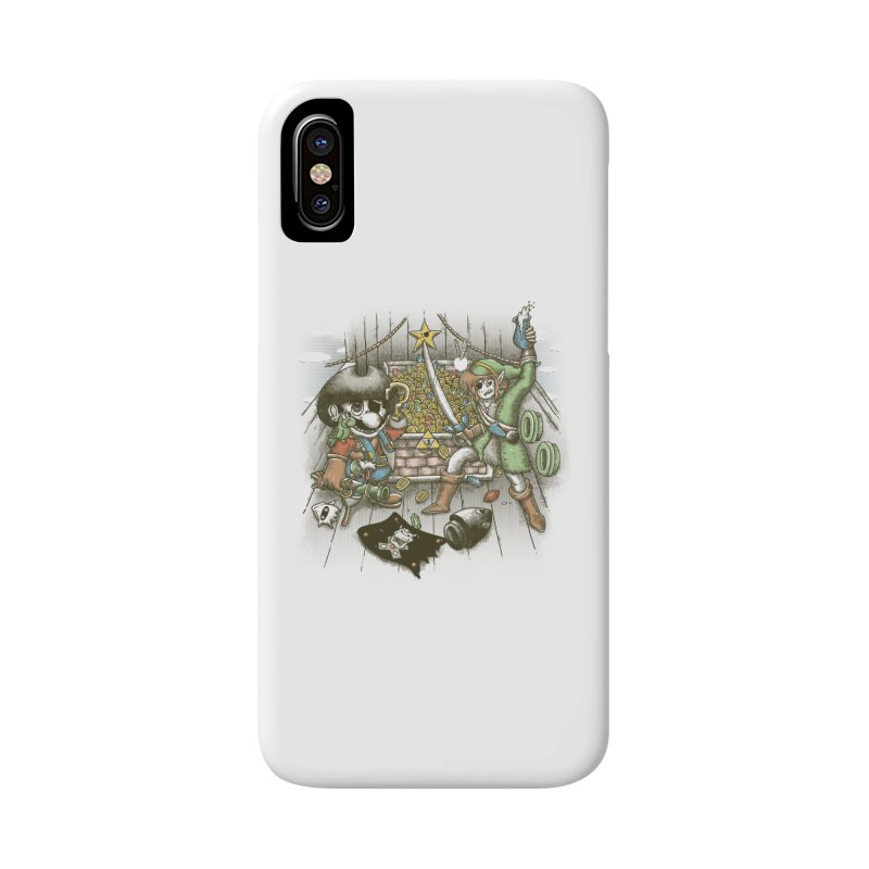 8-Bit Pirates Accessories Phone Case by Made With Awesome